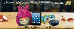 ROMANTIC PICKS FALLING LEAVES #GIVEAWAY #eBookBetty. #GreatBookDeal. #IndieWriterSupp
