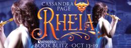 ROMANTIC PICKS RHEIA by Cassandra Page#NEWRELEASE