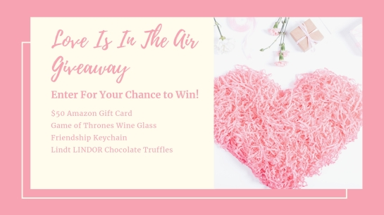 Love Is In The Air Giveaway